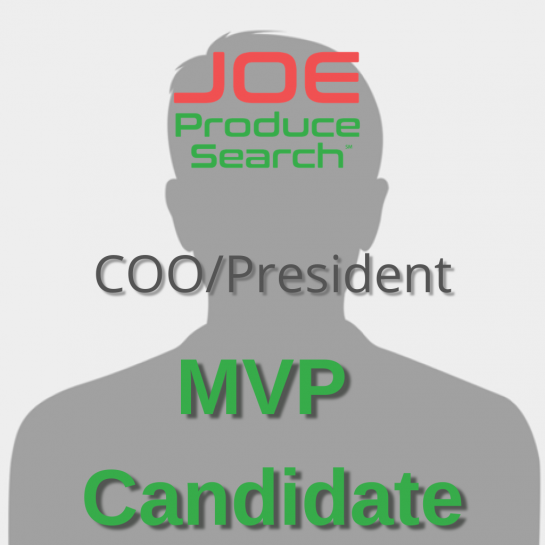 MVP Candidate COO / President