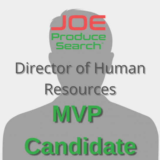 MVP Candidate - Director of Human Resources