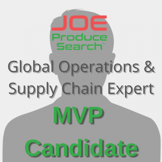 MVP Candidate - Global Ops & Supply Chain Expert